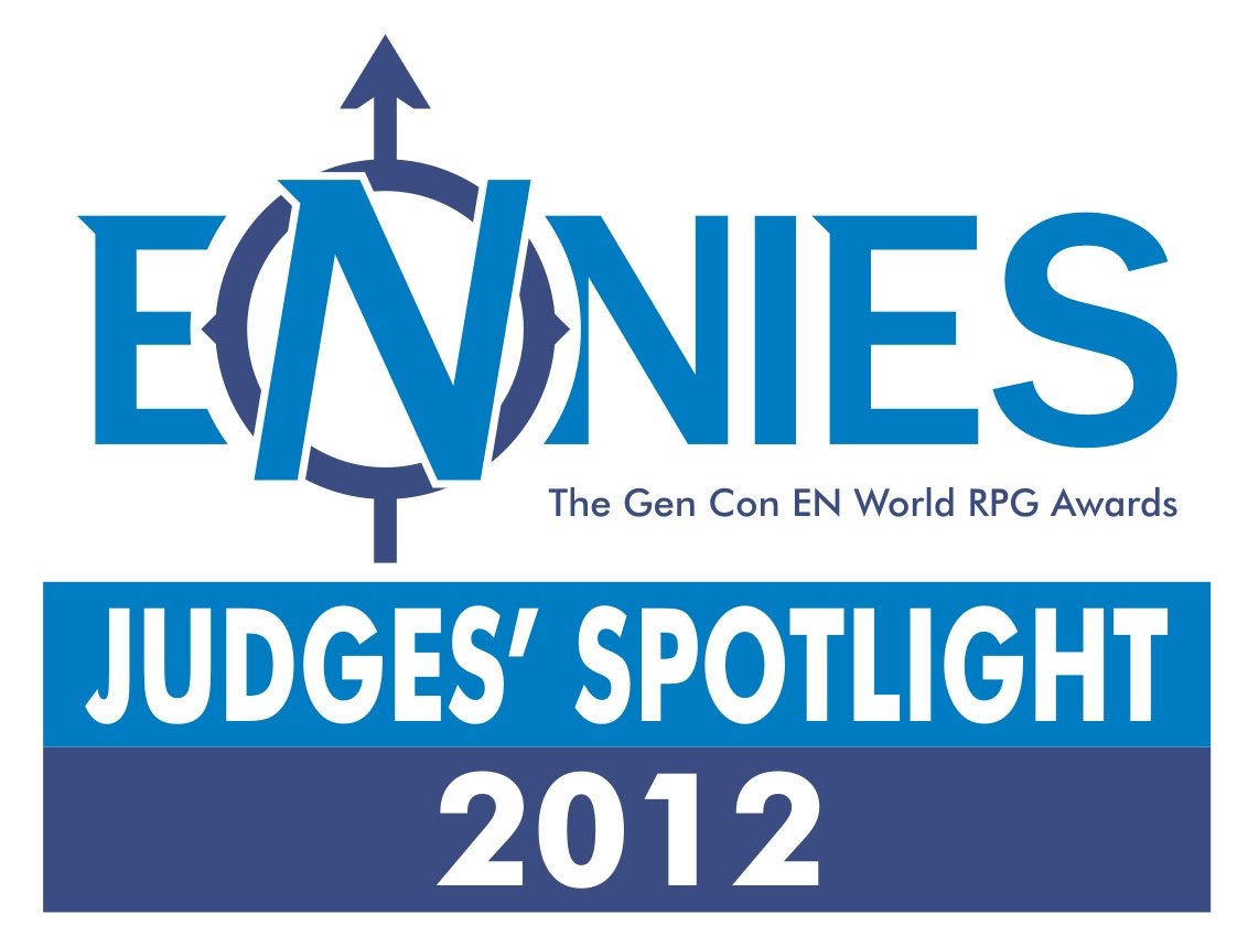 Ennies - Judge's Spotlight Award 2012